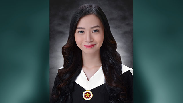 PRIDE. Ianne Gamboa is the first transwoman valedictorian of the Polytechnic University of the Philippines. Photo courtesy of Ianne Gamboa