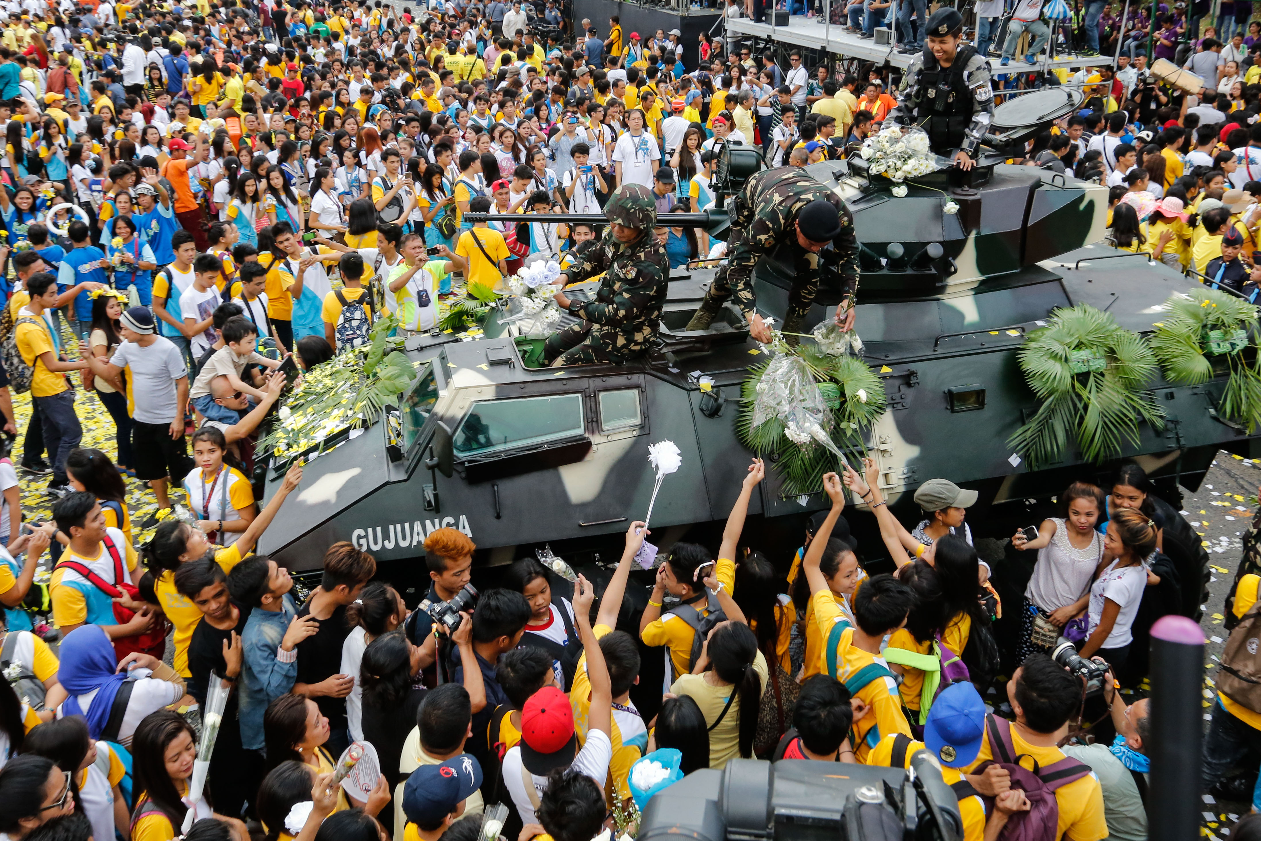analysis edsa people power revolution The bbc's kate mcgeown looks back at the people power protest movement 25 years ago that set the philippines on the road to democracy.
