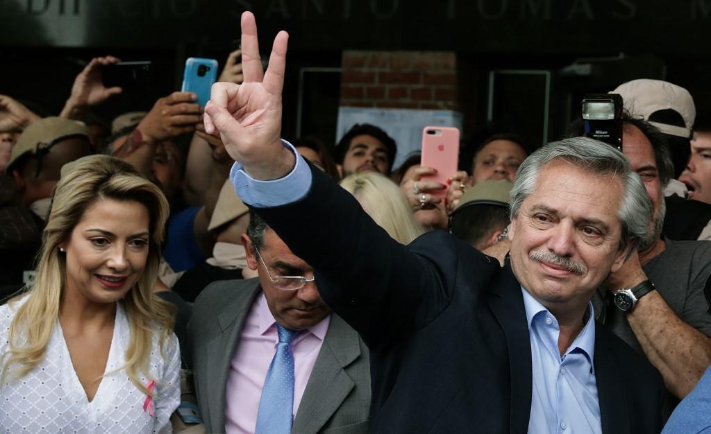 Image result for ARGENTINA ELECTION  ALBERTO FERNÁNDEZ WINS PRESIDENCY