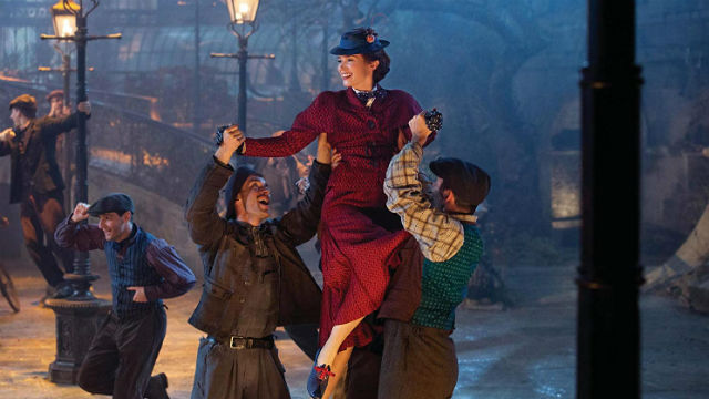 MARY POPPINS RETURNS. Emily Blunt takes on the role of the famous nanny played by Julie Andrews in the new movie 'Mary Poppins Returns. All photos by Walt Disney Studios
