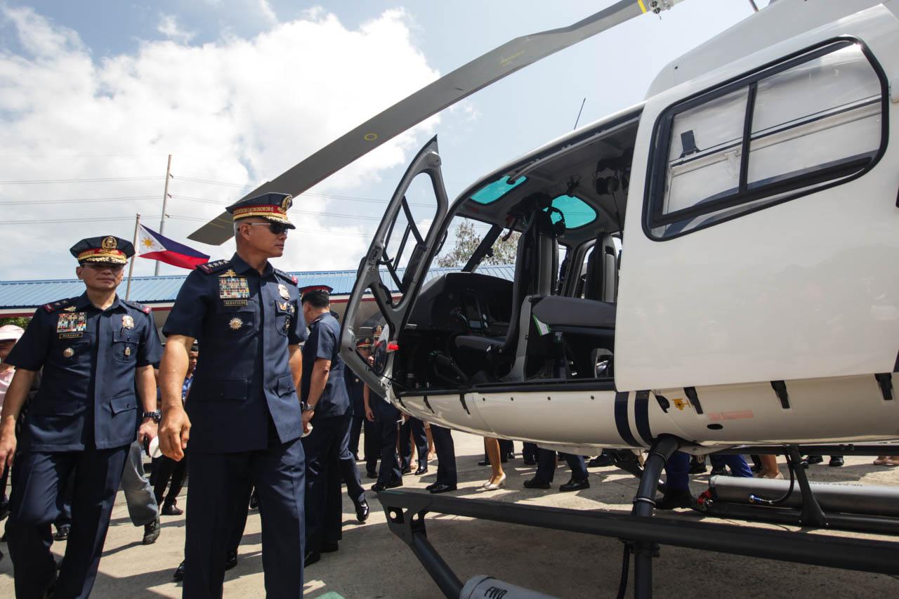 IN PHOTOS: PNP flaunts P1 8-billion new assets in Camp Bagong Diwa