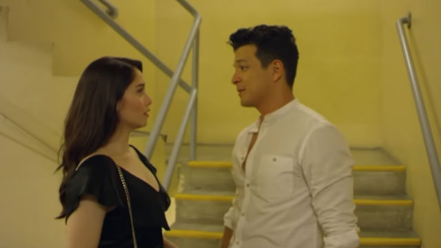 ESCAPE. Anna (Jessy Mendiola) and Rye (Jericho Rosales) try to make sense of the relationship they have in 'The Girl in the Orange Dress.' All screenshots form YouTube/Quantum Films