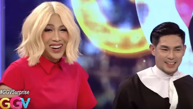 ARE THEY? Ion Perez makes an appearance on Vice Ganda's show. It was during the the appearance that he said Vice is 'special' to him. Screenshot from YouTube/ABS-CBN Entertainment