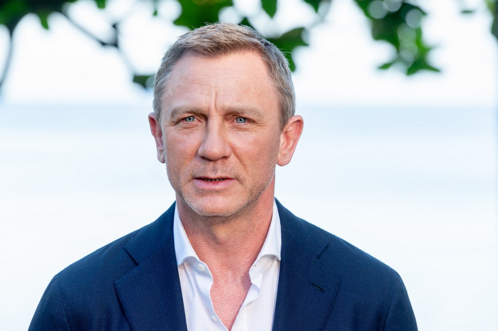 """FINAL BOND FILM. Actor Daniel Craig attends the """"Bond 25"""" Film Launch at Ian Fleming's Home 'GoldenEye', on April 25, 2019 in Montego Bay, Jamaica. Photo by Roy Rochlin/Getty Images for Metro Goldwyn Mayer Pictures/AFP"""