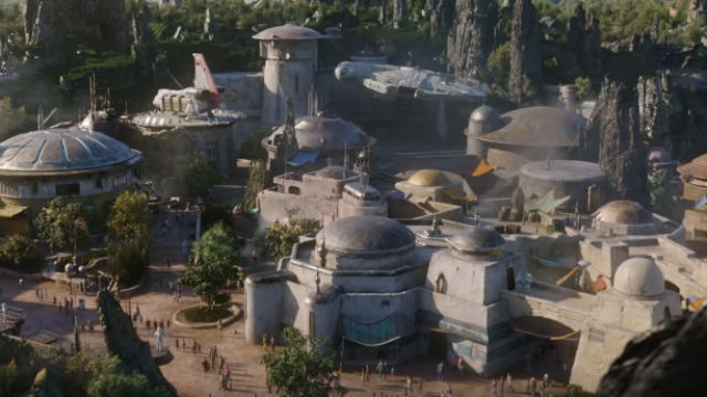 NEW ATTRACTION. Disney is set to open its new 'Star Wars' attraction, the Galaxy's Edge on May 31 in Anaheim, California. Screenshot from YouTube/Disney Parks