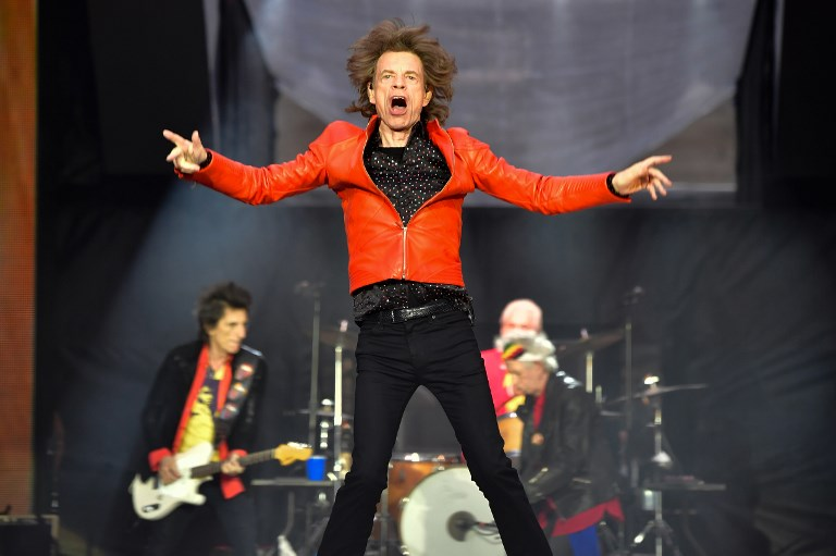 HEART SURGERY. Photo in 2018 shows Mick Jagger performing with the Rolling Stones during a concert at Berlin's Olympic Stadium. Jagger will undergo surgery to replace a heart valve, with the band postponing their North American concert tour. File photo by Tobias Schwarz/AFP
