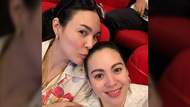 CLOSE RELATIONSHIP. Claudine Barretto says she and sister Gretchen are closer than ever, after years of not talking to each other. Screenshot from Instagram/@claubarretto