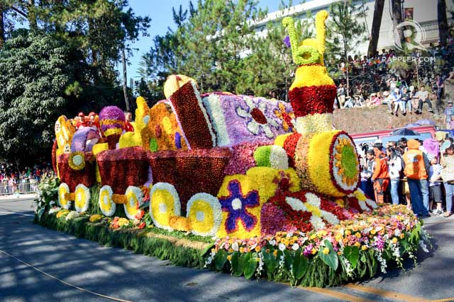 In Photos The Floats Of Panagbenga Festival 2015