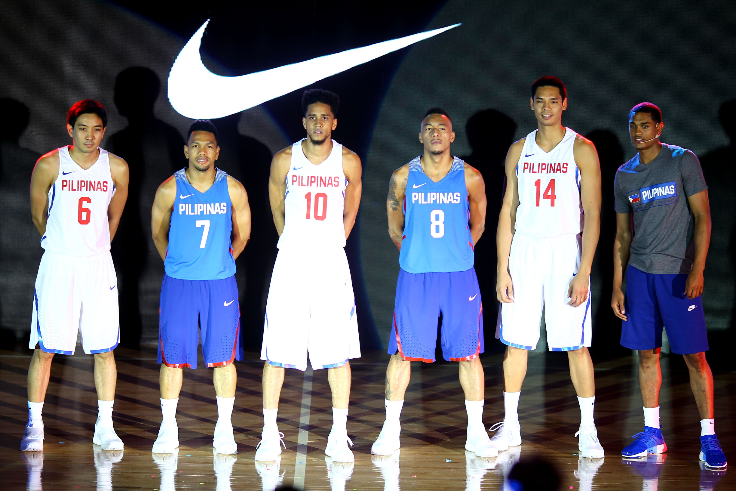 IN PHOTOS: New Gilas Pilipinas jerseys unveiled
