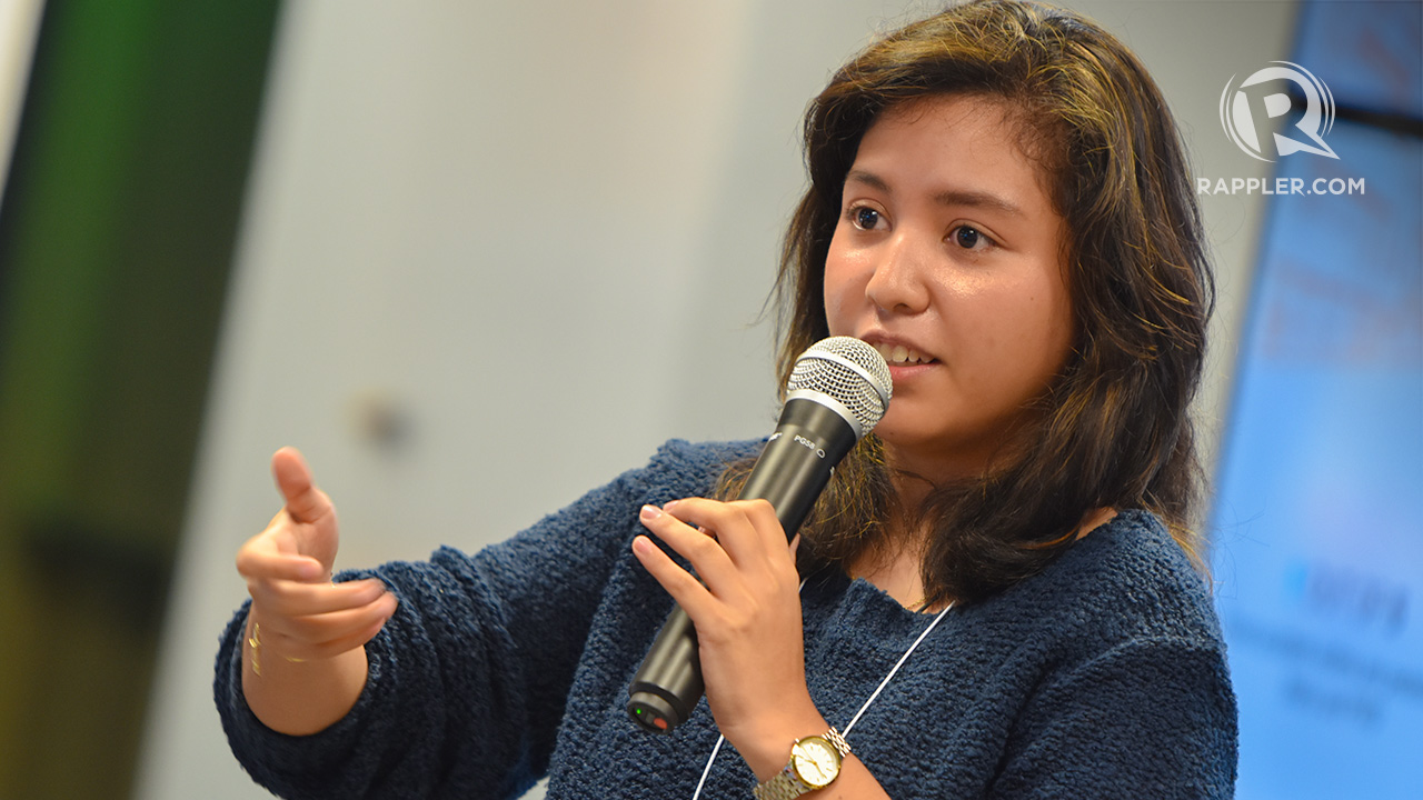 DARE TO FAIL. Kristina Guanzon, born with a hearing disability, wants to help other deaf people through her organization E.A.R.S. Photo by Leanne Jazul/Rappler