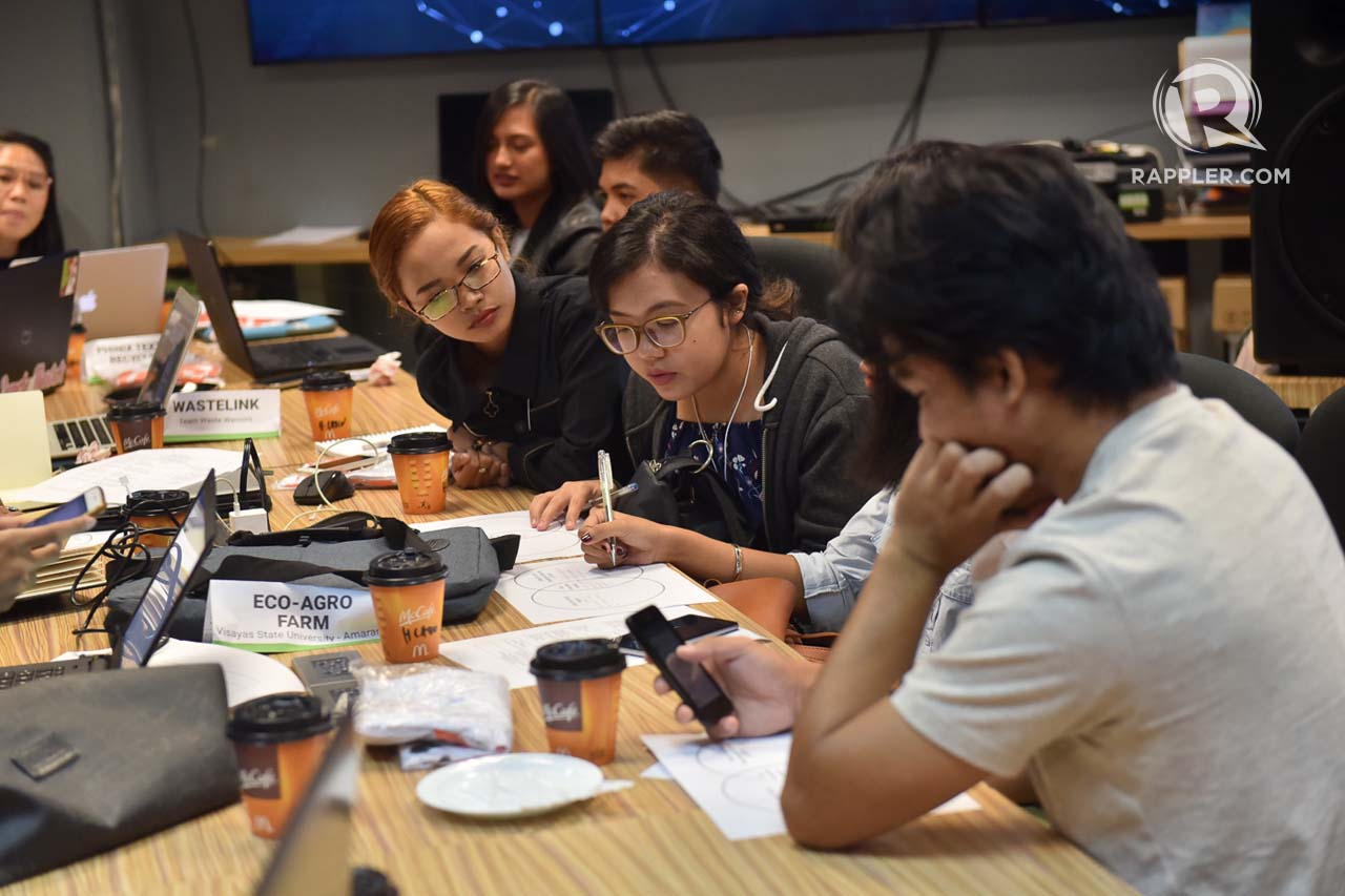 HACKSOCIETY. In 2017, HackSociety finalists underwent a 30-hour challenge where they refined their idea with mentors and experts.