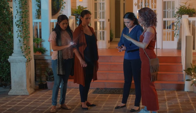 TROUBLE. The 4 witches find themselves facing another danger. Screenshot from YouTube/iflix Philippines