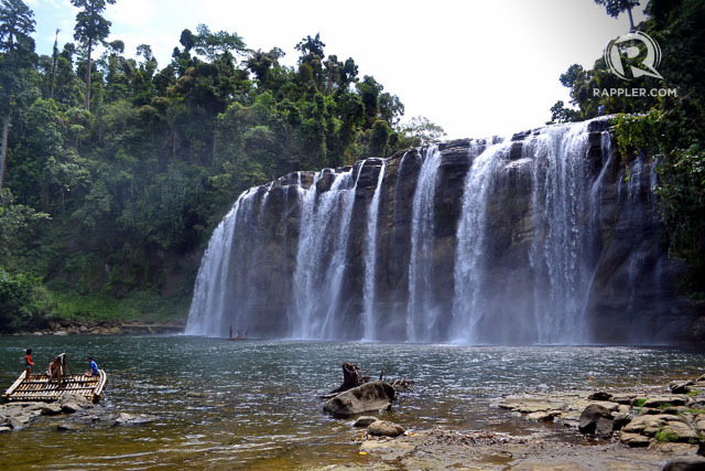 FALLING FOR THE FALLS. Check out these breathtaking spots in Mindanao! Photo by Henrylito D. Tacio/Rappler