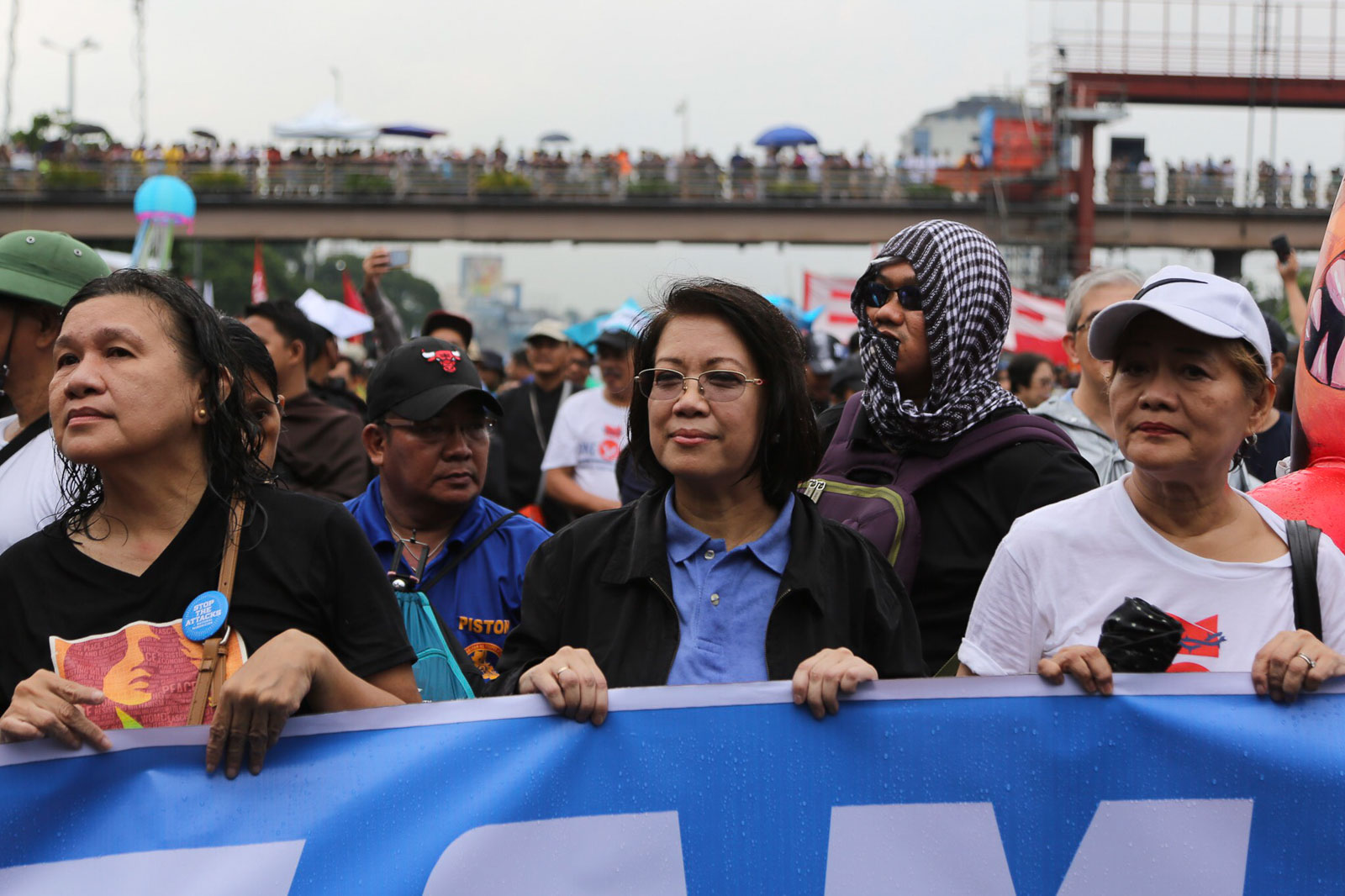 LEAD. Former chief justice Maria Lourdes Sereno is among the attendees of the United People's SONA on July 22, 2019. Photo by Jire Carreon/Rappler