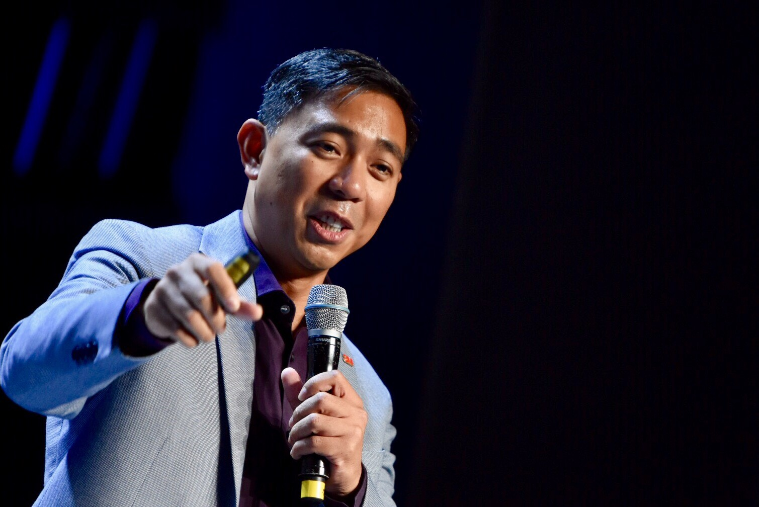 INNOVATE. Ariel Lacsamana, managing director of 3M Philippines, shares how simple innovations can improve the lives of Filipinos. Photo from Rappler