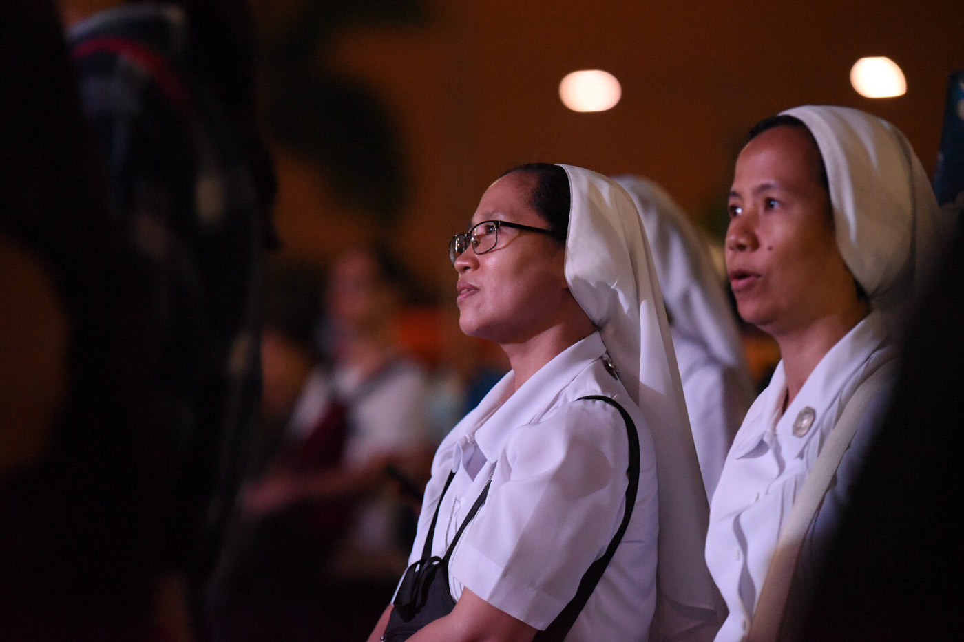 FRUSTRATED. Sister Glenda Monroy of the Angelic Sisters of St Paul said she attended the rally because she is frustrated with the government. Photo by Martin San Diego/Rappler