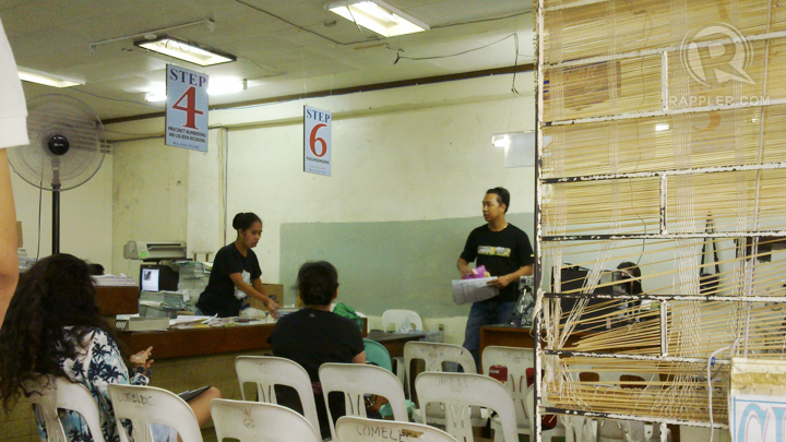 Voters' registration in Antipolo. Photo by Michelle Garcia.