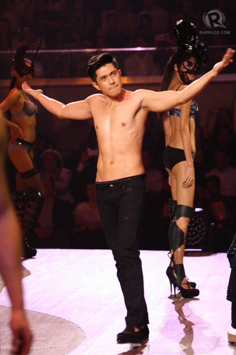 ... : Stars sizzle in undies, denim at Bench 'Naked Truth' fashion show