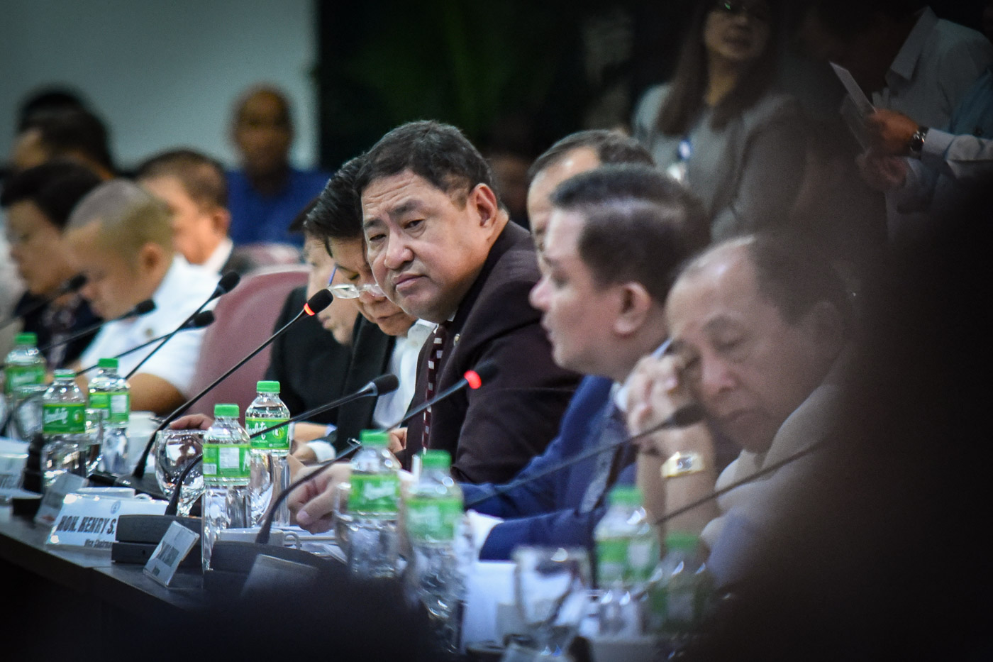 Image result for rep umali in house hearing