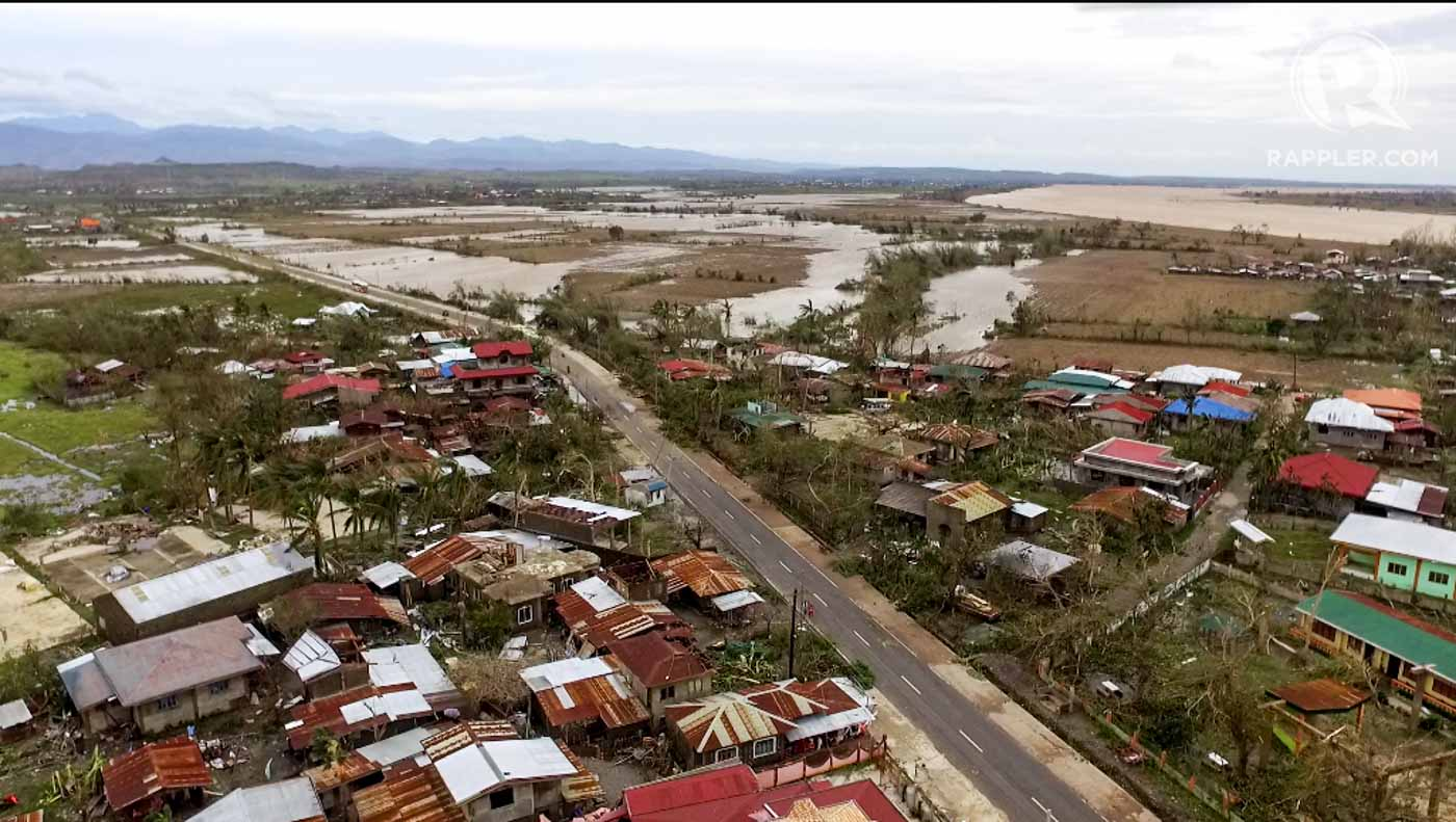 The agricultural damage of Typhoon Lawin in 2016 was not reported by the media who are focused on reporting fatalities, an expert on natural hazards said. File photo by Adrian Portugal/Rappler