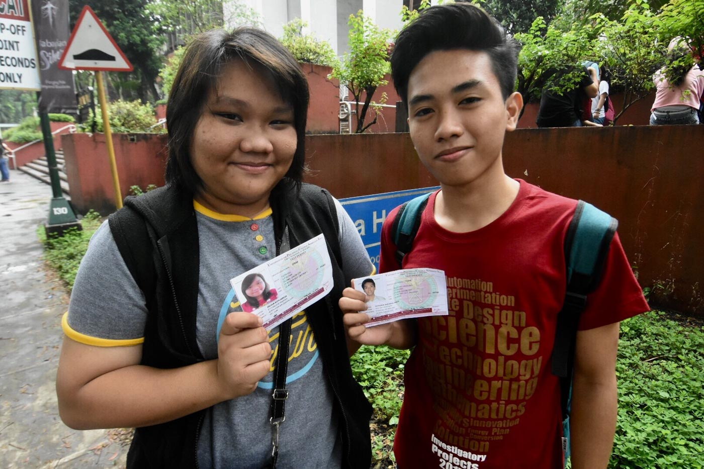 PREAPARED. These two UPCAT takers say they did everything to prepare for the exam. They say they'll try their best to be in the roll of successful takers because choosing UP is choosing a brighter future.