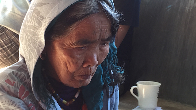TATTOO ARTIST. At 97 years old, Whang-Od is known to be the last Kalinga tattoo artist. File photo by Rappler