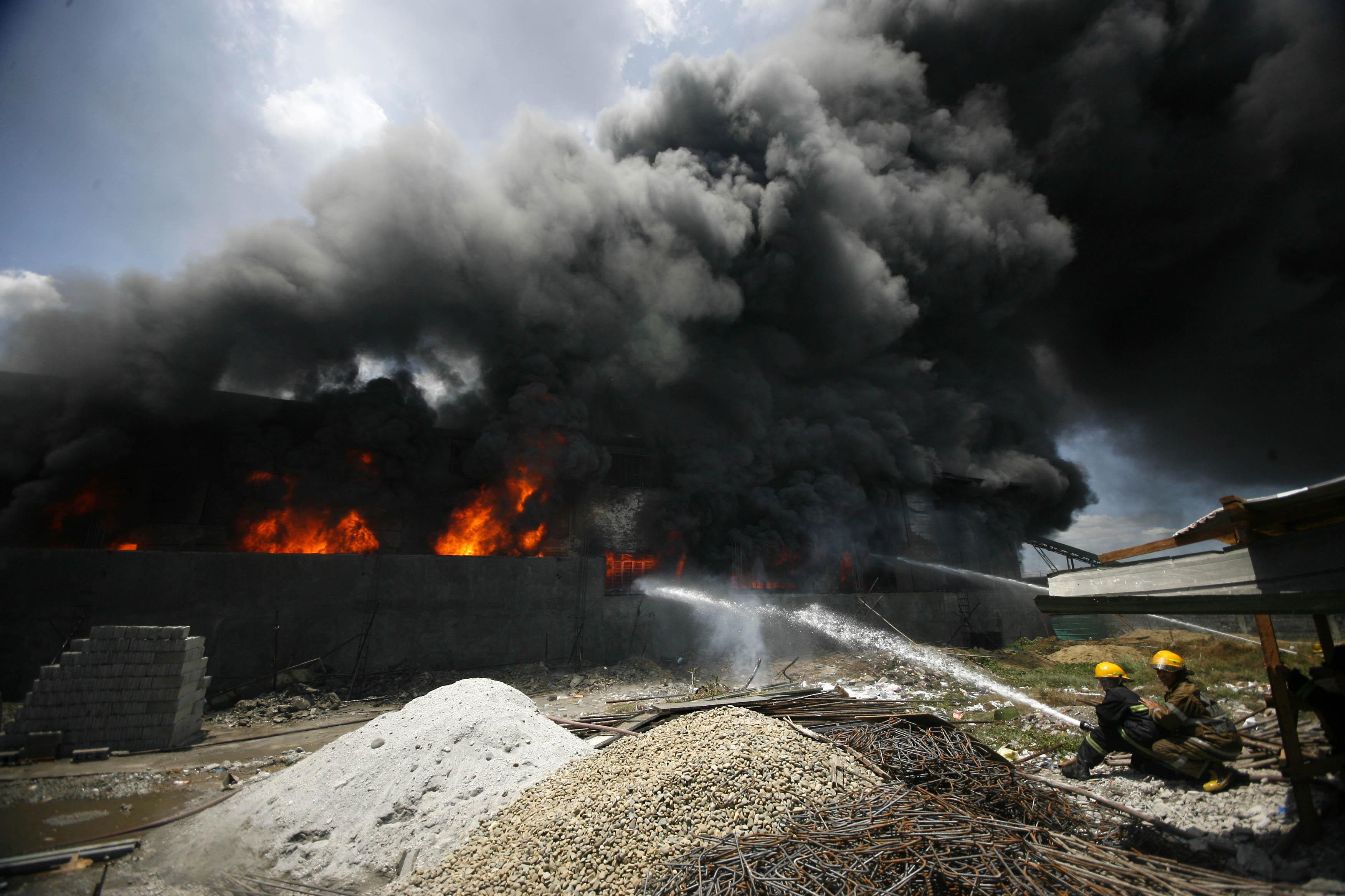 Philippines Valenzuela Fire Valenzuela Factory Fire