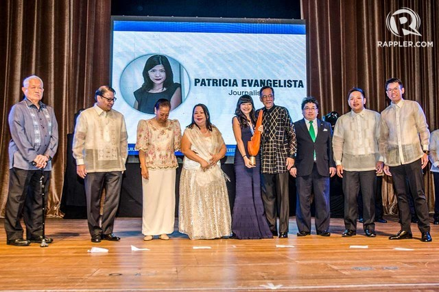 OUSTANDING JOURNALIST. Rappler multimedia manager Patricia Evangelista is among the 10 TOYM 2015 awardees. Photo by Rob Reyes/Rappler
