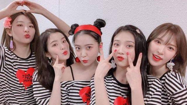 K-POP FEVER. Red Velvet is one of the acts announced for K-Pop World Music Festival 2019 in Manila. Screenshot from Instagram/@redvelvet.smtown