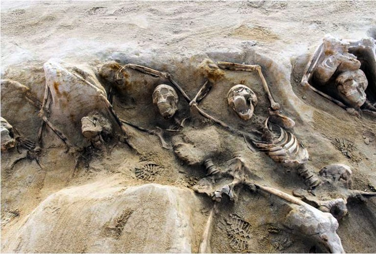 Ancient Mass Graves Discovered In Greece