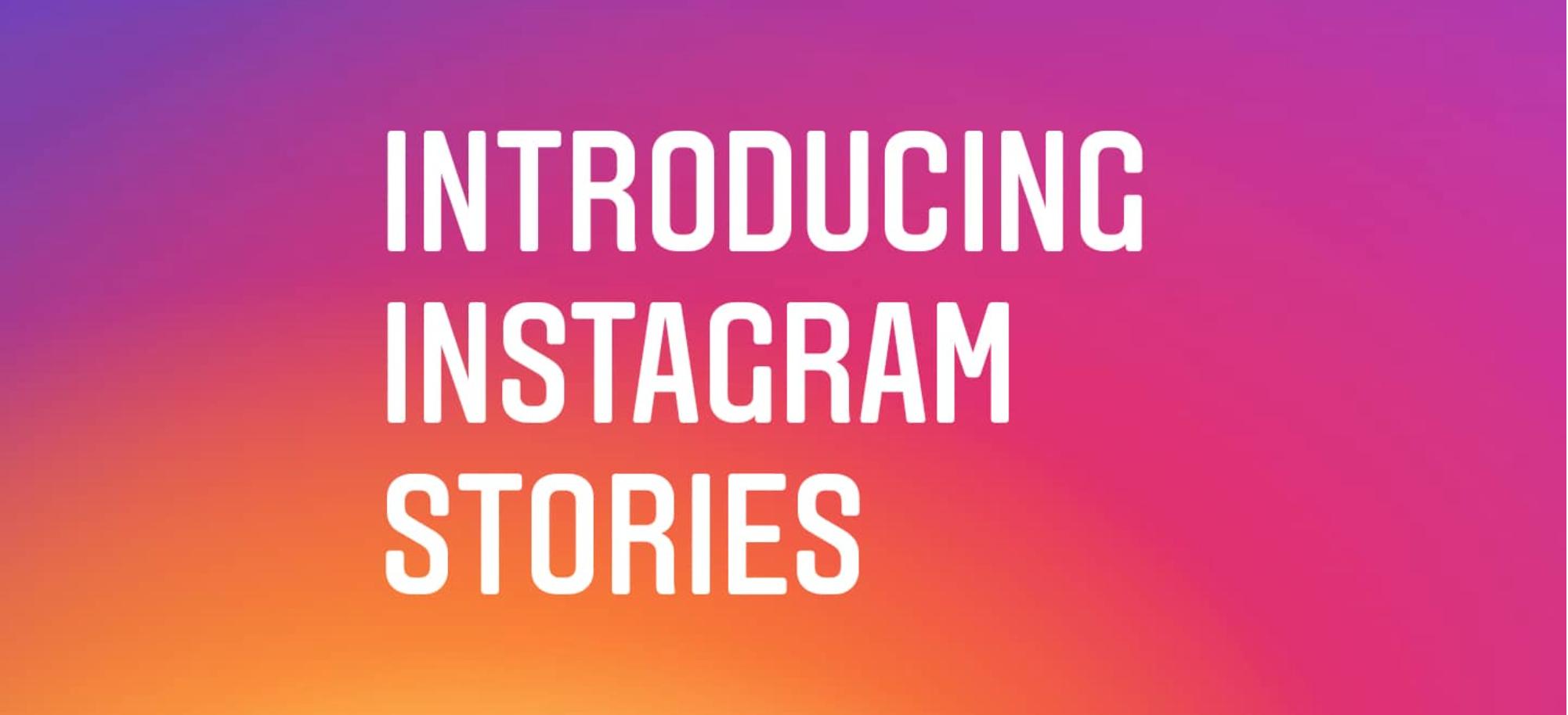 FITUR BARU. Instagram meluncurkan Instagram Stories, Rabu, 2 Agustus. Foto dari blog Instagram.