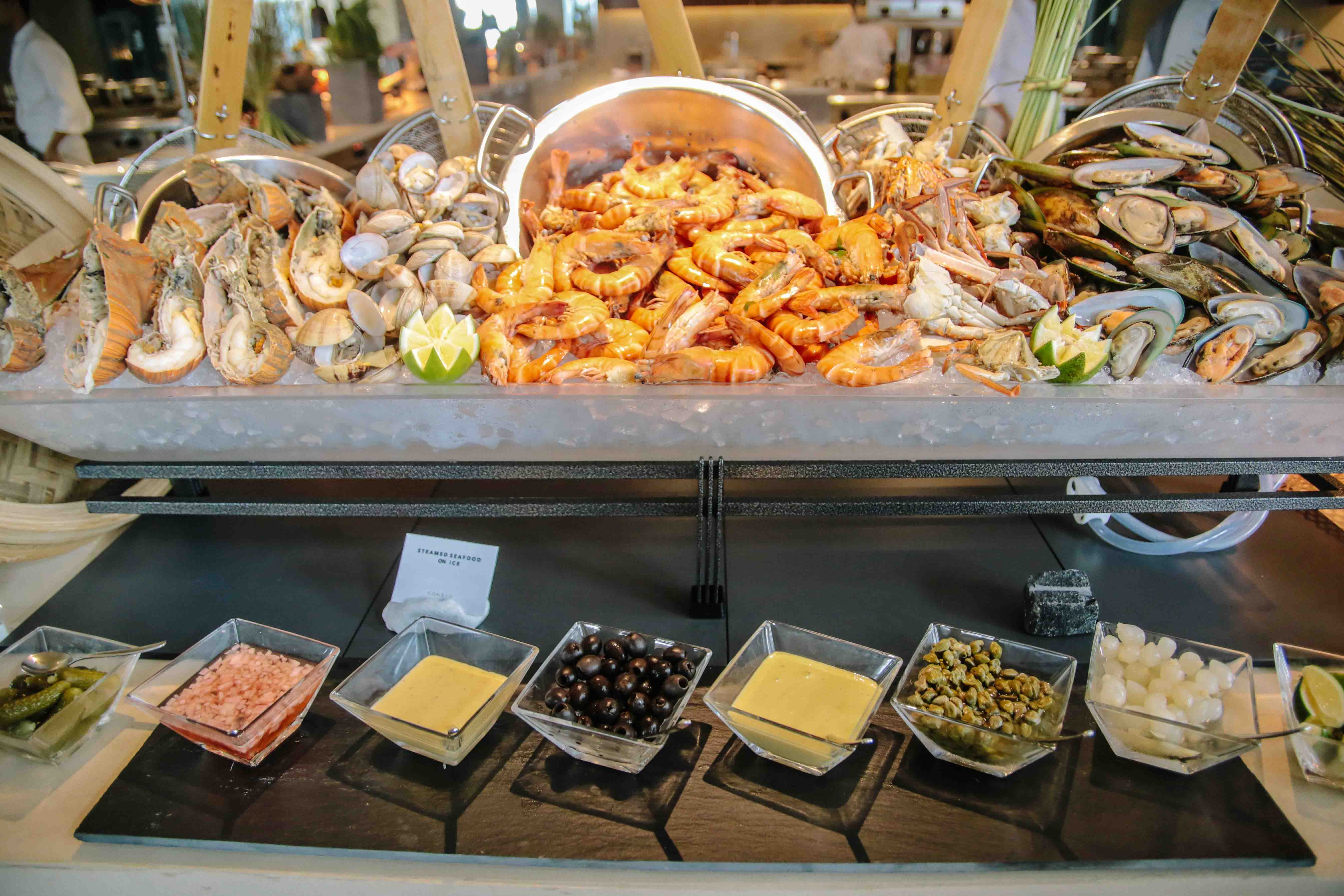 Terrific In Photos What To Eat At The Conrad Manila Hotel Buffet Download Free Architecture Designs Itiscsunscenecom