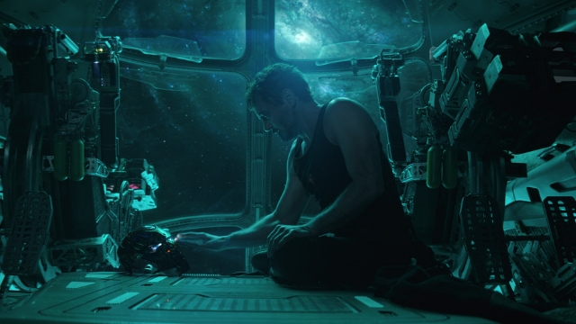 MESSAGE. Tony Stark records a message in case he dies.