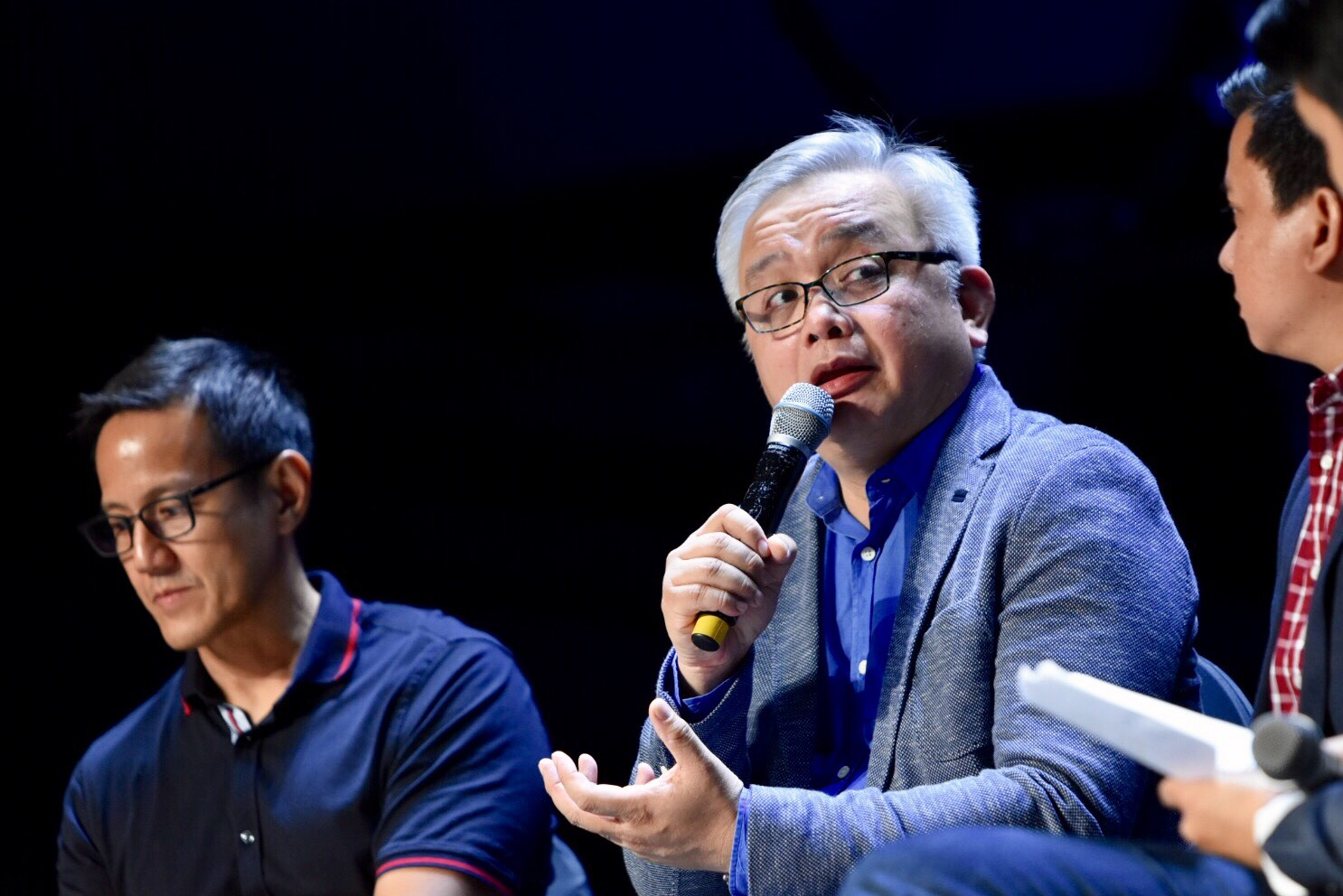 PRIVACY. Mon Liboro from the National Privacy Commission talks about the importance of data privacy today. Photo from Rappler
