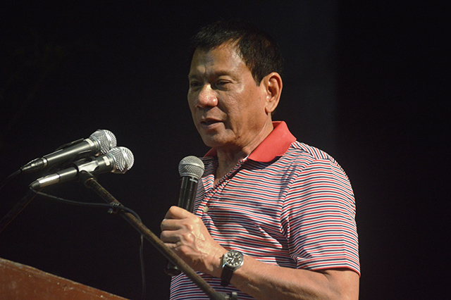 LISTENING TOUR. Duterte visited Dapitan City and Dipolog City in Zamboanga del Norte, and Dumaguete City in Negros Occidental for consultations on changing the government system to federalism