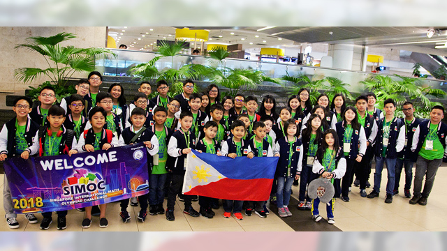 Young Pinoys bag 126 medals in Singapore math competition