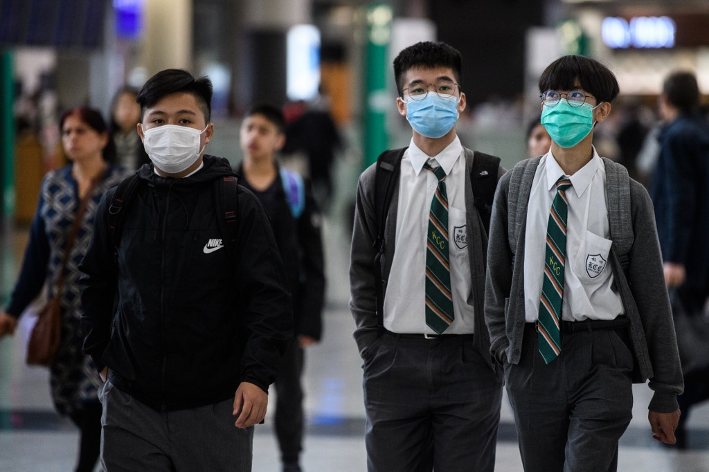Case Virus Positive' 'preliminary Of Kong First Reports Hong New