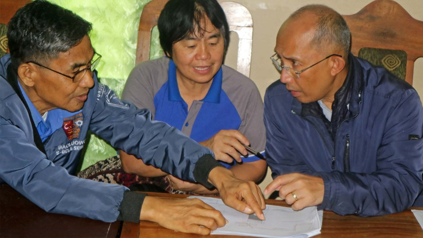 CONSULTATION. Baguio Mayor Benjamin Magalong. Photo courtesy of Baguio City PIO