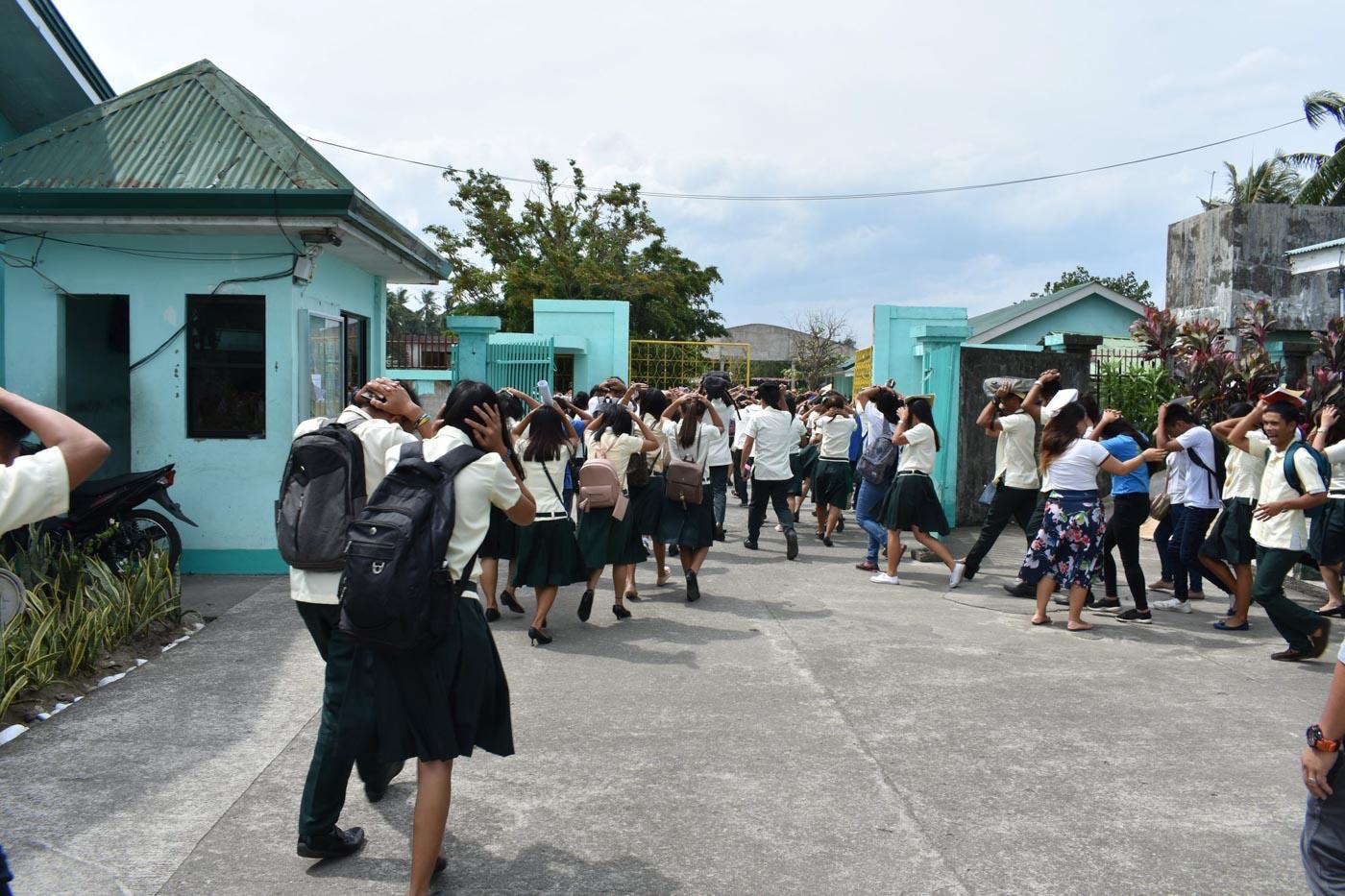 Abuyog Community College. Photo by Jessica Alvero/Rappler