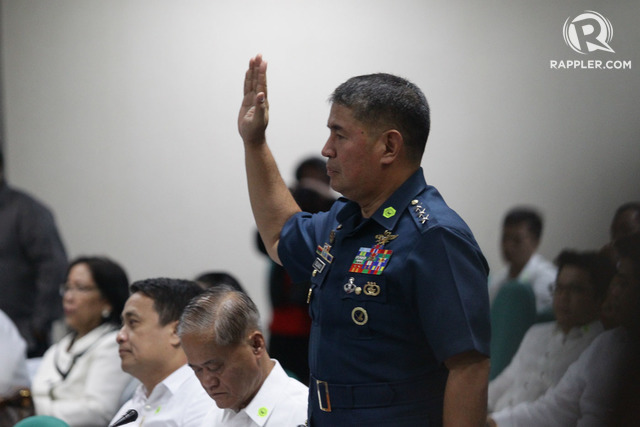 AIR FORCE CHIEF. Lieutenant General Jeffrey Delgado. Photo by Mark Cristino/Rappler