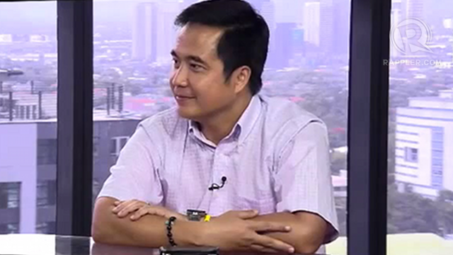 BUDGET FIRST: Cavite Rep Joseph Emilio Abaya says he will prioritize passage of the 2013 budget in the House of Representatives before he takes the DOTC post(RAPPLER file photo)