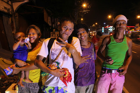 MEANINGFUL CHRISTMAS. Myles Delfin says the Midnight Ride's objective is simple: to help bring some hope to them by showing that they are not forgotten.