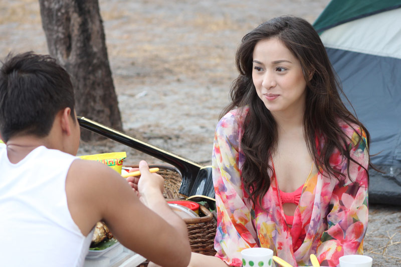 FAST FORWARD TO THE PRESENT. Cristine Reyes in a scene from 'The Gifted'
