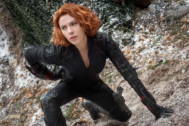 BLACK WIDOW. Scarlett Johansson is Natasha Romanoff. Photo by Jay Maidment/Marvel 2015