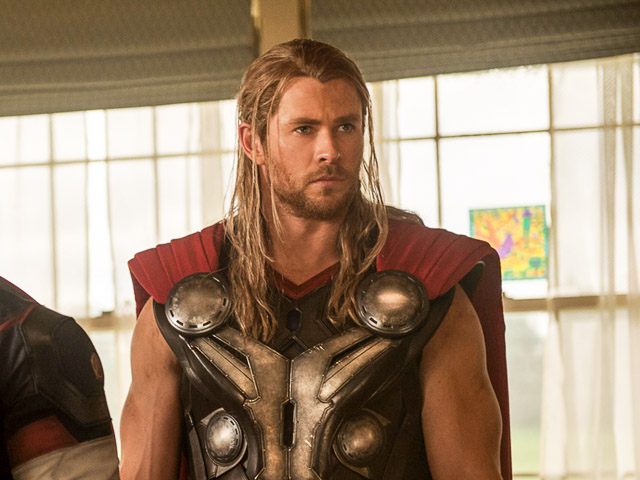 THOR. Chris Hemsworth plays the Asgardian leader in the Marvel Cinematic Universe. Photo by Jay Maidment/Marvel