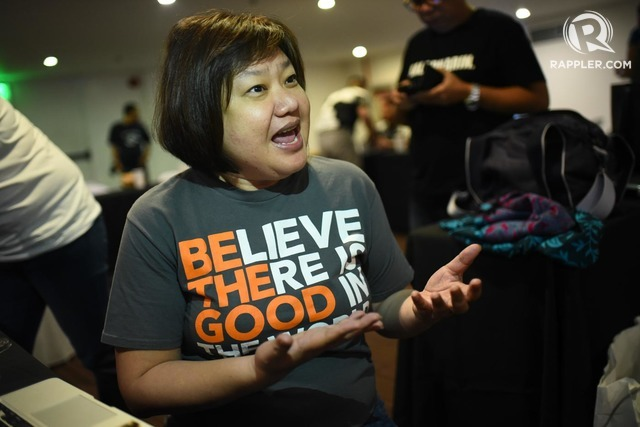 CROWDSOURCED IDEAS. Patmei Bello Ruivivar during the Social Good Summit. Photo by Martin San Diego/Rappler