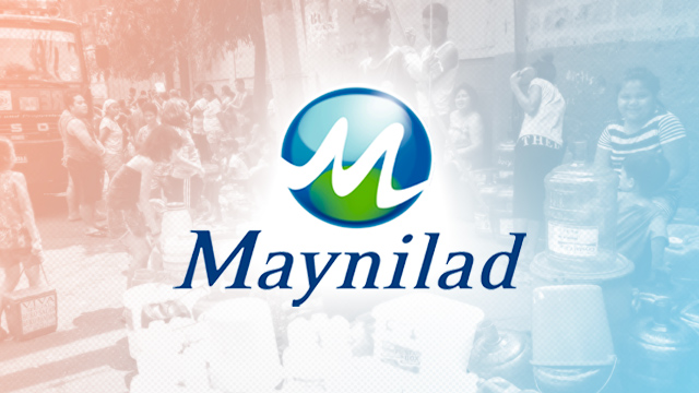 SCHEDULE: Maynilad water interruptions for July 2019