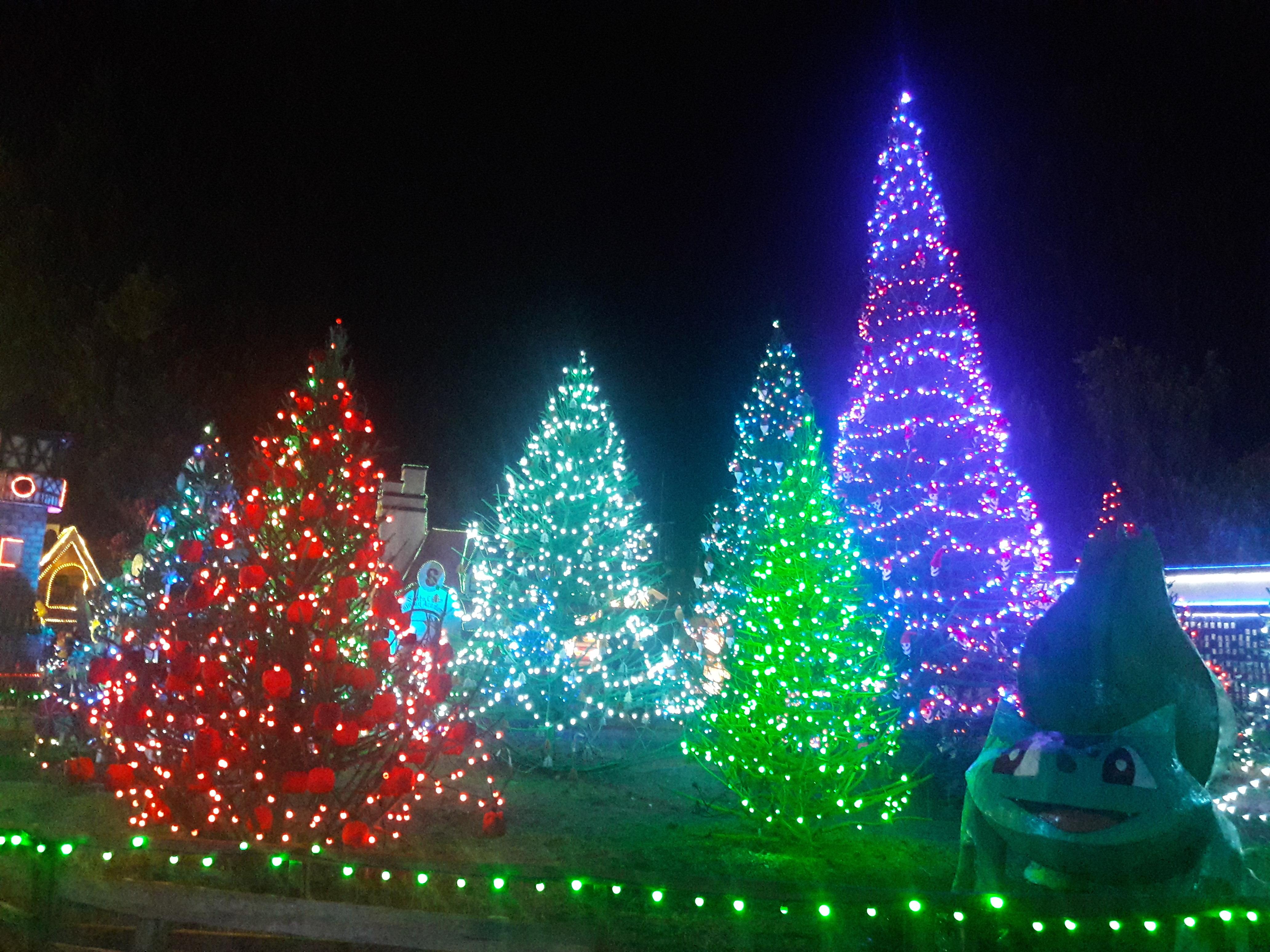 Christmas Village Baguio.Look Beautiful Glowing Christmas Village In Baguio City