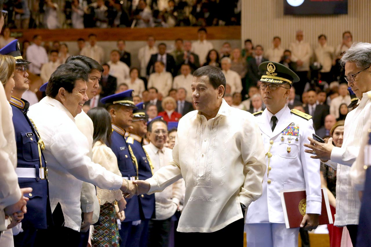 Quick point-by-point summary of Duterte's SONA 2018