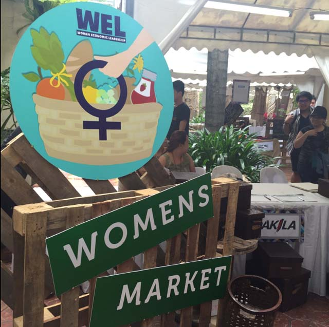 MADE BY WOMEN. Oxfam Philippines and Dakila set up the Women's Market - a marketplace of homegrown and handcrafted merchandise?. Photo by Denise Nacnac/Rappler